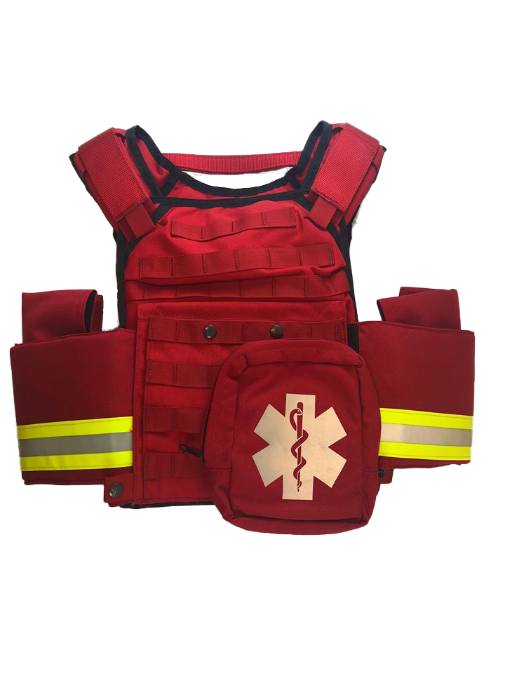 Firefighter Active Shooter Body Armor Vest