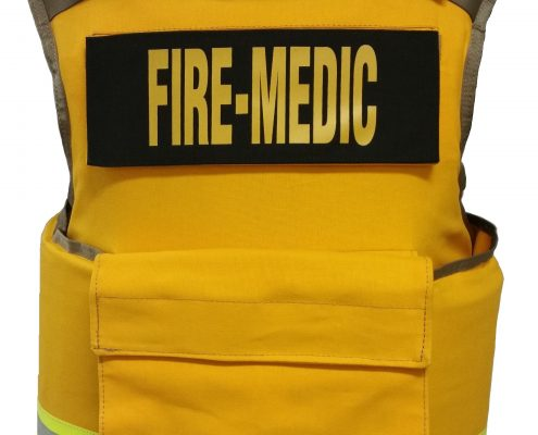 F1-first ever 1-size-fits ballistic vest for fire, ems rescue task force